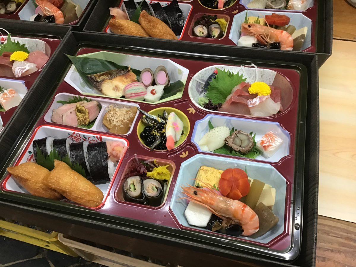 新年会の弁当3000円